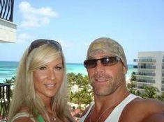 Awe! So cute! :) ---- Rebecca And Michael Hickenbottom a.k.a Whisper (Nitro Girl) and Shawn Michaels (WWE)