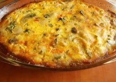 Gombás kagylótészta recept foto Cheddar, Quiche, Macaroni And Cheese, Breakfast, Ethnic Recipes, Drink Recipes, Foods, Morning Coffee, Food Food