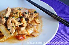 Manias de uma Dietista: Frango Oriental