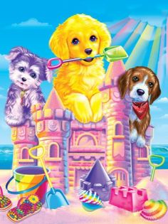 Lisa Frank Stickers Puppy Images Wallpaper Art Rainbows Girly Stuff Jade