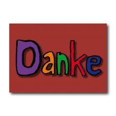 "Grußkarte ""DANKE"" nur 2,45 EUR/Stück"
