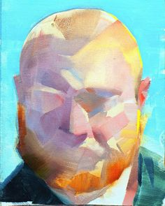 Benjamin Bjorklund Oil on canvas 21x30 cm