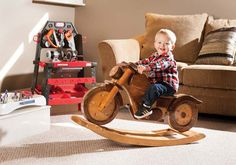 Wooden Motorcycle Rocker Plans Free Video Tutorial