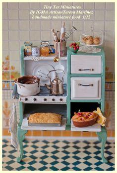 Tiny Ter Miniatures Kitchen Miniature