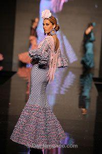 Trajes de Flamenca - SIMOF 2013 - Hermanas Serrano