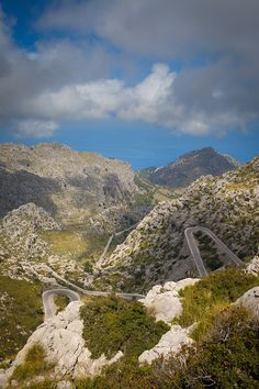 Coll del Reis (boven Sa Calobra)