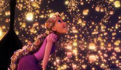 The lantern scene in Tangled was absolutely enchanting and really cool.