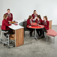 Maximise your comfort and productivity with stylish and practical tables like the Endeavour Table through Furnware. The Endeavour, School Furniture, Learning Spaces, Ottomans, Small Groups, Larger, Stool, Feels