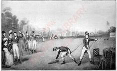 129. The Toxophilite Ground at Bayswater, 1830. , from: The Badminton Library: Archery by C.J. Longman and Col. H. Walrond, 1894.