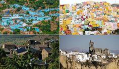 Juzcar, San Juan en Las Palmas, Valverde de los Arroyos y Arcos de la Frontera Spain Travel, Desktop Screenshot, Around The Worlds, Palmas, San Juan, Travel, Spain Destinations