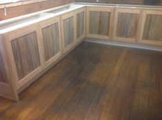 Hand built made to order kitchen using recycled timber by Heritage