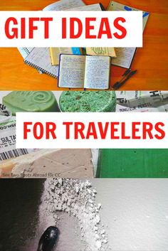 Eight gift ideas for your travelling loved ones!