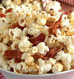 Pipoca vai bem com cinema, Netflix, lanche da tarde, pra ver seriado, comer com…