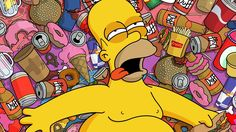 Beers cartoons food ice cream homer simpson donuts the simpsons krusty the clown cigarettes red bull duff beer Bart Simpson, Homer Simpson Donuts, Homer Simpson Quotes, Homer Donuts, Simpsons Frases, Simpsons Quotes, Simpsons Donut, The Simpsons, Simpsons Funny