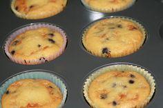 Muffins de farinha de coco - Cristina Sales