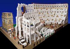 LEGO Colosseum #Lego #Rome
