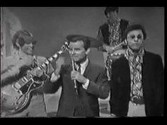 I remember this American Bandstand Show.  The group seemed thoroughly unimpressed with either Dick Clark or American Bandstand.  No connection whatsoever between the group or the host.  I do like the song and I thought the double neck guitar was the coolest thing I had yet seen.  I don't think Clark's ever made the trip to Love's Castle near Griffith Park for Where the Action Is.