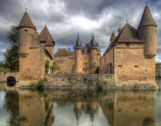 Château La Clayette, France by pe_ha45, via Flickr