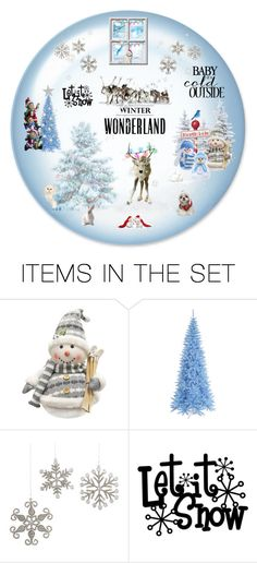 """""""A Winter Wonderland..."""" by lizzysbibsandbobs ❤ liked on Polyvore featuring art"""