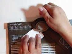 ▶ Envelope Punch Board Tags - YouTube