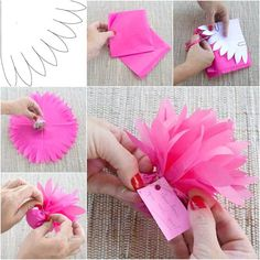 """<input class=""""jpibfi"""" type=""""hidden"""" >Here is a nice DIY tutorial on how to make abeautiful gift packing easily. It is a super simple and low cost way to pack small gifts such as chocolates, candies and other goodies. It's great for weddings, anniversaries, graduations…"""