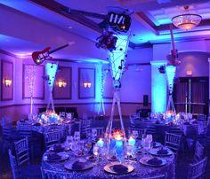 Music Theme Bar Mitzvah Event Decor Party Perfect Boca Raton, FL 1(561)994-8833