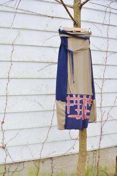 Upcycled Boho Wrap Skirt/Long Skirt / Eco by RebirthRecycling, $65.00