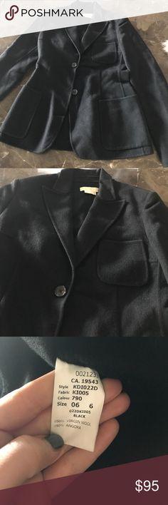 Michael Kors wool jackets Beautiful soft wool angora jacket. Like new condition. Michael Kors Jackets & Coats Blazers