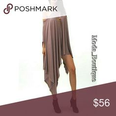 U.S. Made, Sexy Sleeveless Solid Loose Top/Poncho VERY Soft And Sexy sleeveless solid Color, Loose Top / poncho Can be worn on or off shoulder As a dress or a tonic. This item is one size fits all. Loose fit. Fabric: 95% Rayon 5% Spandex Color: Mocha Made With Love In The U.S.A. Tops