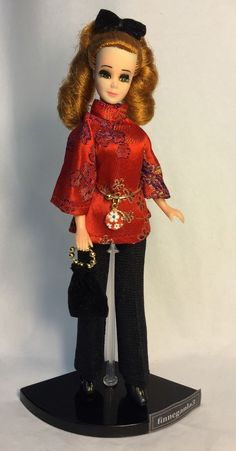 Vintage Topper Dawn Doll Modeling Daphne/K11A In Vintage Fashion w/Accessories