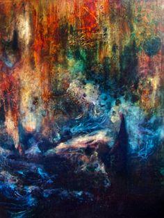 "Saatchi Art Artist Falina Lintner; Painting, ""Harmony in Discord"" #art"