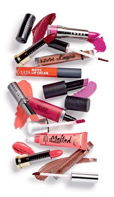 Get the secrets of these glosses & sticks. Master a matte, try an ombré, go mad for metals.