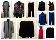 Vintage 10 PC Fashion Career Clothes Lot Valerie Stevens Sz 10 12 14 | eBay