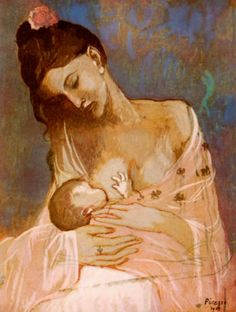Maternity by Pablo Picasso