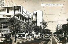 Avenida Paulista, anos 50