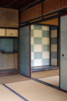 Inside the Shokin-tei, Kyoto, Japan