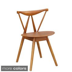 Shop for Fronter Wooden Dining Chair. Get free shipping at Overstock.com - Your Online Furniture Outlet Store! Get 5% in rewards with Club O!