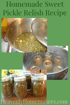 Use those excess cucumbers from the garden to make Sweet Pickle Relish! This recipe uses all real food ingredients. Sugar Free Relish Recipe, Relish Recipes, Cucumber Recipes, Fermentation Recipes, Canning Recipes, Raw Food Recipes, Veggie Recipes, Homemade Pickles, Sweet Pickles