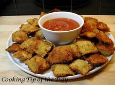 Cooking Tip of the Day: Recipe: Fried Ravioli