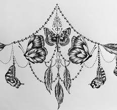 Картинки по запросу sternum tattoo
