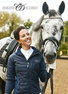 Olympic dressage gold medal winner Charlotte Dujardin's exclusive clothing line by Kingsland Equestrian is available on our website and in-store!