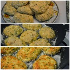 Kotlety z kalafiora i cukinii Ethnic Recipes, Food, Essen, Yemek, Meals