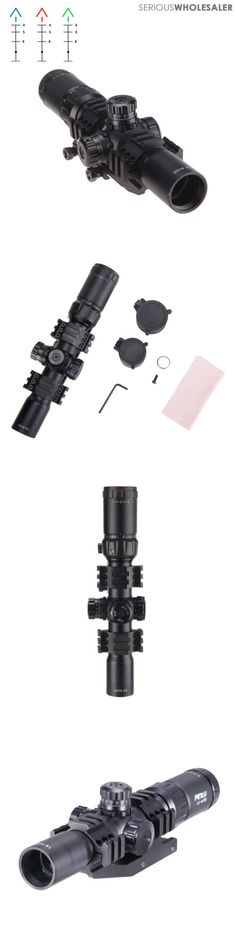 Other Hunting Scopes and Optics 7307: 1.5-4X30 Mm Tactical Rifle Scope Mil-Dot Reticle Illuminated W 30Mm Mount -> BUY IT NOW ONLY: $62.99 on eBay!