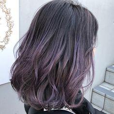 Two Color Hair, Hair Color Streaks, Balayage Color, Hair Color Purple, Balayage Hair, Hair Inspo, Hair Inspiration, Dye My Hair, Love Hair