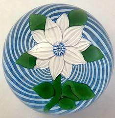 John Deacons Floral Paperweight | Pottery & Glass, Glass, Art Glass | eBay!