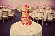 my wedding cake - blogged at herlittleplace.com