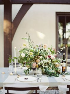 lush and wild table