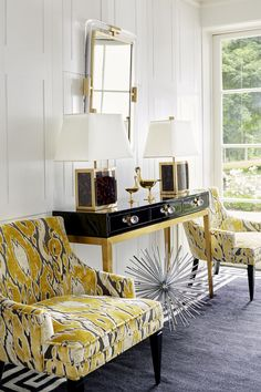 Behold The Power Of Black And Gold. Black Gold Decor, Residential Interior  Design,
