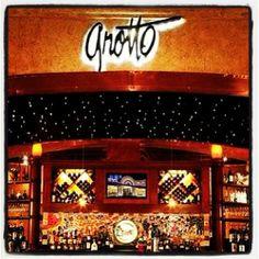 Gonna have dinner here tonight! Grotto Ristorante, Golden Nugget, Las Vegas