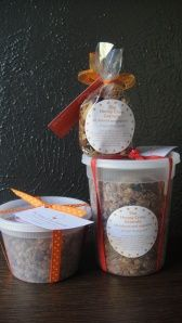 Healthy Granola from Honey Crew - great for snack/breakfast